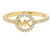Ring Logo Circle Gold