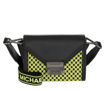 Umhängetasche Whitney Xs Belt Bag Black/Neon Yellow