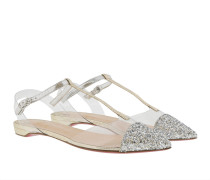Nosy Flat Ballerinas Glitter Silver Ballerinas