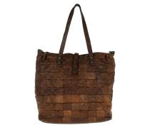 Patchwork Shopping Bag Umhängetasche