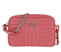 Umhängetasche Diagramme Crossbody Bag Leather Peonia pink