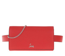 Gürteltasche Boudoir Chain Belt Bag Leather Red