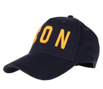 Caps Icon Baseball Cap Navy/Yellow