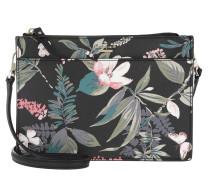 Clarise Flower Crossbody Bag Blackmulti Tasche