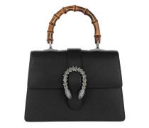 Dionysus Medium Top Handle Bag Leather Black Tasche