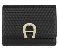 Portemonnaie Genoveva Wallet Black schwarz
