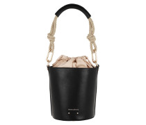Beuteltasche Holly Mini Bucket Bag Noir