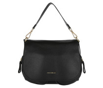 Janine Shoulder Bag Black Umhängetasche
