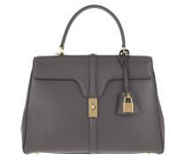 Satchel Bag Medium 16 Leather Grey