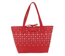 Shopping Bag Stars Red Tote