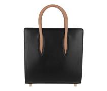Paloma Small Calf Leather Black/Leo Tote
