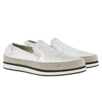 Slip On Suede Sneakers Naturale Schuhe