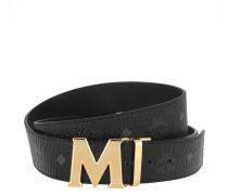 Gürtel Reversible Belt Shiny Gold Black