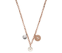 Halskette Necklace Signature Rosegold/Silver