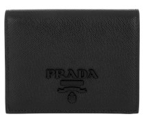 Small Wallet Saffiano Shaine Nero