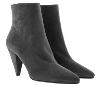 Boots Tronchetti Ankle Boots Leather Nebbia grau