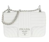 Diagrame Crossbody Bag Leather White Tasche