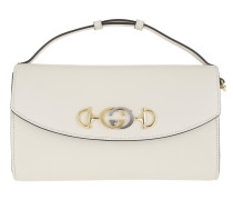 Umhängetasche Zumi Small Shoulder Bag Leather Mystic White weiß