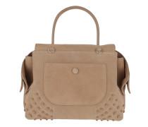 Shoulder Bag Wave Mini Gommino Soft Miami Nocciola Medio Shopper