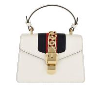 Sylvie Mini Bag Leather White Tasche weiß