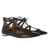 Ballerinas Bel Air Flat Ballerina Leather Black schwarz