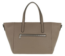 Helena Nature Grain Handbag Mud Tote