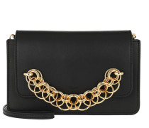 Drew Bijou Clutch Leather Black Tasche