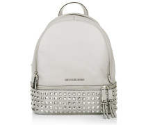 Rucksack Rhea Zip Medium Pyr Stud Backpack Pearl Grey grau