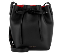 Mini Mini Bucket Bag Black Flamma Beuteltasche