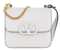 Umhängetasche VSLING Mini Crossbody Bag Calfskin White