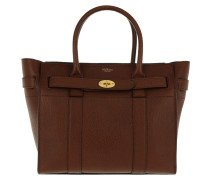 Tote Bayswater Small Zipped Leather Oak braun