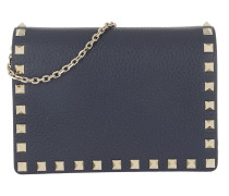 Umhängetasche Rockstud Crossbody Bag Blush Pure Blue blau