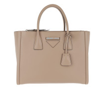 Concept Handle Bag Leather Cammeo Tote