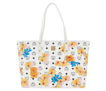 Essential Floral Print Shopper Medium White