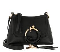 Joan Crossbody Bag Mini Leather Black Tasche