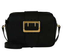 Zip Buckle Umhängetasche Bag Black