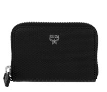 Otti Charm Zippered Card Wallet Mini Black