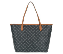 Lara Cortina Shopper Large Blue Tote