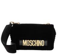 Logo Shoulder Crossbody Bag Black Tasche