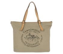 Shopping Bag Grande Tessuto Beige Dyed Pearl braun