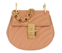 Drew Bijou Mini Leather Blushy Nude Tasche