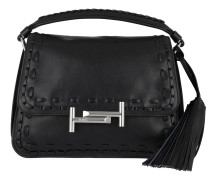 Amu Messenger Piccola Leather Nero Tasche