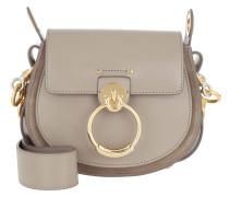 Umhängetasche Tess Shoulder Bag Small Leather Motty Grey grau