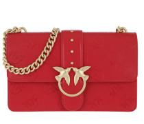 Love Imprime Crossbody Bag Rosso Marte Tasche