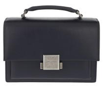 Bellechasse Schoolbag Medium Navy Satchel Bag