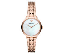 Uhr Dress Watch Roségold rosa