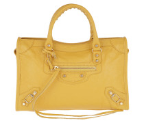 Classic City Tote S Dark Yellow Shopper