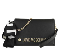 Love Clutch Black Tasche