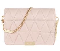 Jade Medium Gusset Clutch Soft Pink Tasche