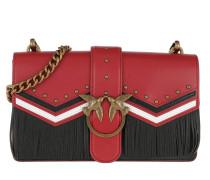 Love Tricolor Crossbody Bag Rosso/Nero/Bianco Tasche